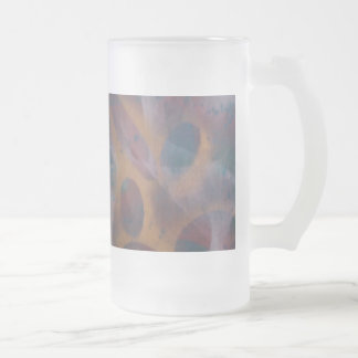 Transition Frosted Glass Beer Mug