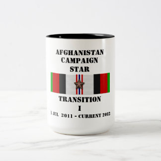 Transition I  / CAMPAIGN STAR Two-Tone Coffee Mug