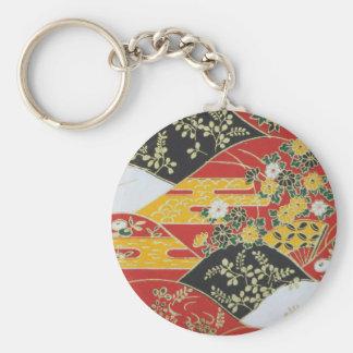Transitional Japanese Pattern Keychain
