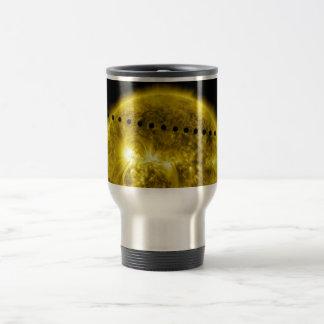 Tránsito 2012 del planeta Venus a través del Sun Taza De Café