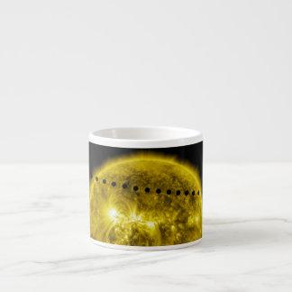 Tránsito 2012 del planeta Venus a través del Sun Tazita Espresso