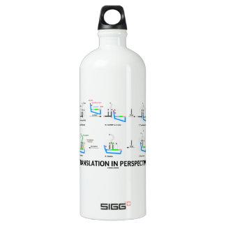 Translation In Perspective (tRNA Biology Protein) Aluminum Water Bottle