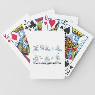 Translation In Perspective (tRNA Biology Protein) Bicycle Playing Cards