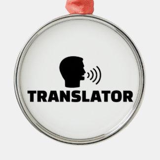 Translator Metal Ornament