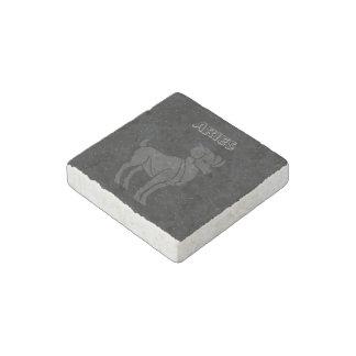 Translucent Aries Stone Magnet