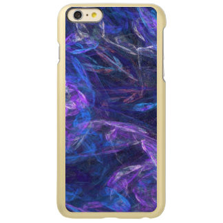 Translucent Blues and Purples Abstract Incipio Feather® Shine iPhone 6 Plus Case