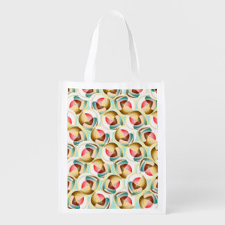 Translucent glass objects grocery bag