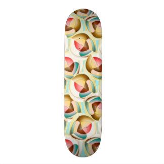 Translucent glass objects skateboard deck