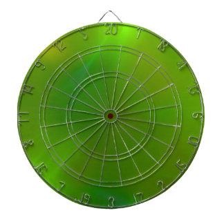 Translucent green dart boards