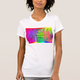 Translucent rainbow T-Shirt