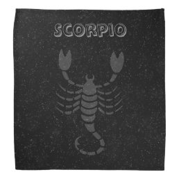 Translucent Scorpio Bandana