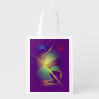 Translucent Universe Reusable Grocery Bags