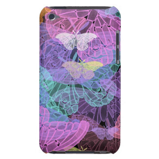 Transluscent Butterflies Abstract Art iPod Touch Covers