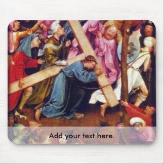 Transmisión de la crucifixión (Cristo en el Calvar Alfombrillas De Ratón