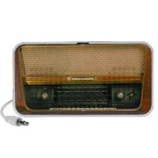 Transmisor de FM del vintage Altavoces De Viajar