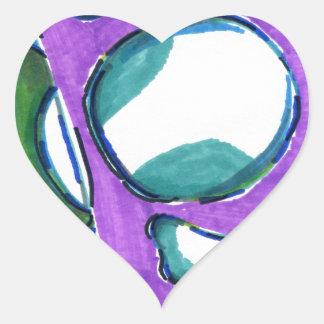 Transmission Approach Heart Sticker
