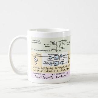 Transmission Lines Classic White Coffee Mug