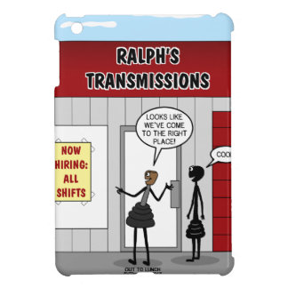 Transmission Shop Hiring All Shifts iPad Mini Case