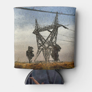 Transmission tower can cooler