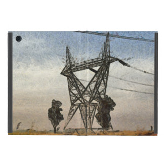Transmission tower cover for iPad mini
