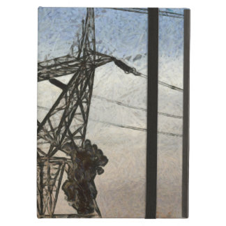 Transmission tower iPad air case