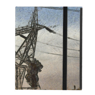 Transmission tower iPad cases