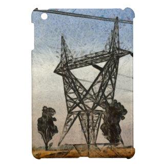 Transmission tower iPad mini case
