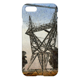 Transmission tower iPhone 8/7 case