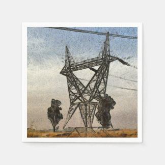Transmission tower napkin