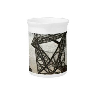 Transmission tower pitcher