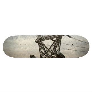 Transmission tower skateboard