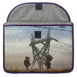 Transmission tower sleeve for MacBooks