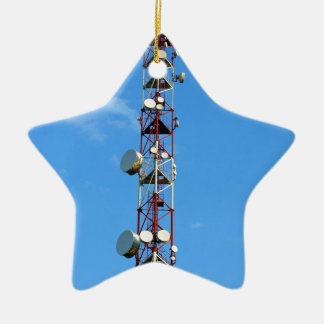Transmitter antenna ceramic ornament