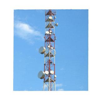 Transmitter antenna notepad