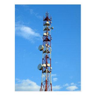 Transmitter antenna postcard
