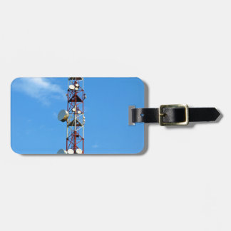 Transmitter antenna tags for bags