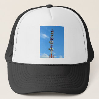 Transmitter antenna trucker hat