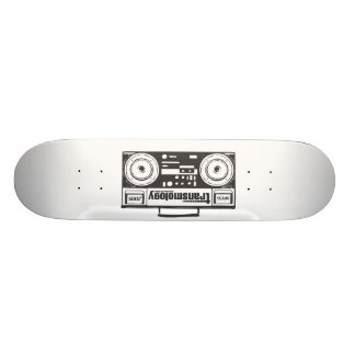 transmology ghetto blaster skateboard
