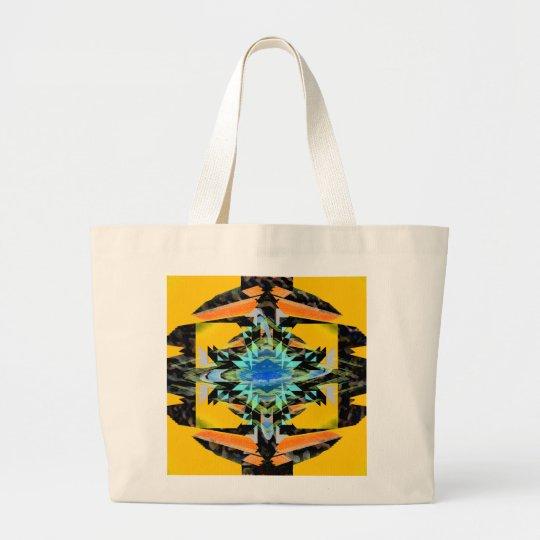 Transmutation CricketDiane Visual Languages Large Tote Bag