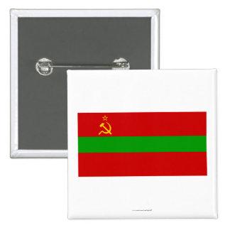 Transnistria Flag Pinback Button