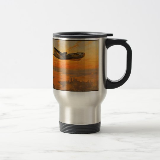 Transocean Air Lines Travel Mug