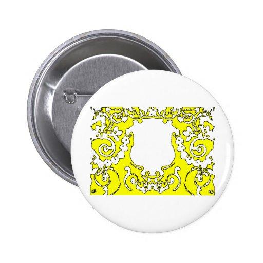 Transp amarillo de la placa los regalos de Zazzle  Pin Redondo 5 Cm