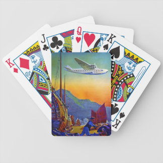 Transpacific Travel Bicycle Playing Cards