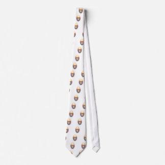 Transparencia de la puesta del sol corbata personalizada