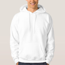 Transparent and White Houndstooth Hoodie