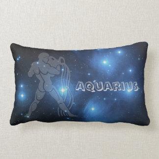 Transparent Aquarius Lumbar Pillow