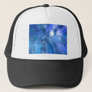 Transparent Blue Rings Trucker Hat