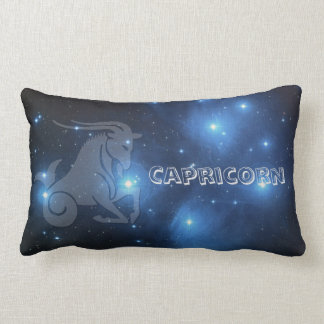 Transparent Capricorn Lumbar Pillow