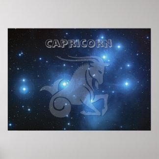 Transparent Capricorn Poster
