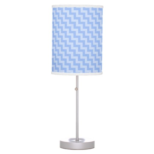 Transparent Chevron Pattern Print Lamp Any color!